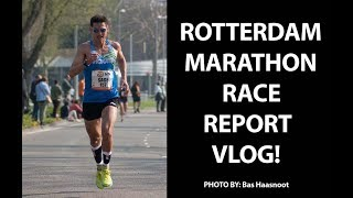 2019 Rotterdam Marathon | Sage Canaday Race Report VLOG | Ultra Training Speed Work?!