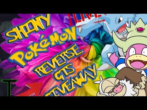 Shiny Pokemon Giveaway Reverse Gts Giveaway (Slowking, Slaking, and Nidoking) [Pokemon Ultra Sun]