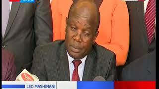 Katibu mkuu wa UASU-Conctatine Wasonga aongelea mgomo wa wahadhiri: Leo Mashinani