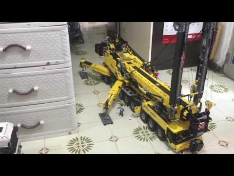 Lego Technic 91 Rc Crane Takwoonken Yu Video Free Music Videos