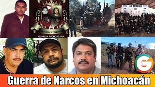 Narcos se disputan Michoacán