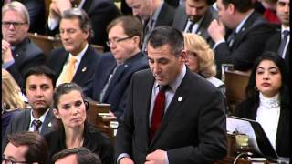 Question to the Minister of Fisheries and Oceans – Question Period February 23 2016