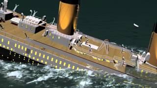 Animación Del TITANIC | T.H. Cooney Art (4K Vídeo UHD Resolution)