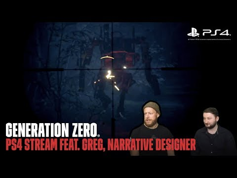 Generation Zero - Live PS4 Game Play.