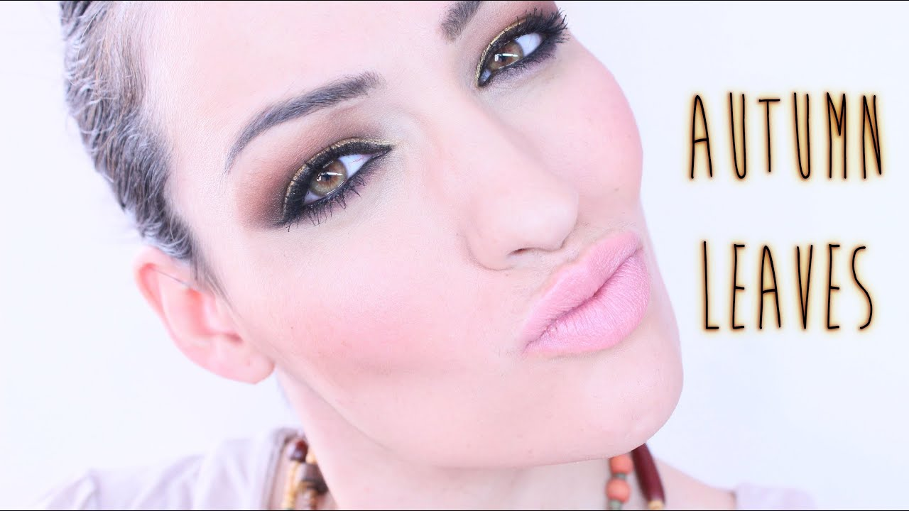 NonaMakeUp: Look Autumn Leaves Ideal Navidad colaboracion con Secretitos de Tocador