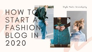 How to Write a Fashion Blog in 2020