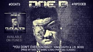 "Doe B ""You Don't Even Know"" [Official Audio]"