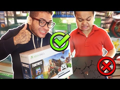DESTROYING MY LITTLE BROTHERS PS4 AND SURPRISING HIM WITH AN XBOX! (HE RAGED) \