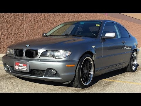 2004 BMW 325Ci - Alloy Wheels, A/C, Sunroof, Leather Seats