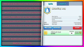 KICKING MY ENTIRE CLAN! (MUST WATCH) | Clash Royale