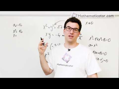 Soustava nelineárních rovnic 1
