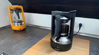 Krups Druckbrühautomat T8 - die etwas andere Kaffeemaschine
