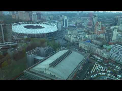 Дебаты Зеленского и Порошенко. Что происходит возле НСК Олимпийский в режиме онлайн