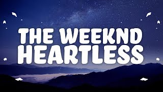 The Weeknd   Heartless (Lyrics)