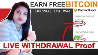 Make Free 1 Bitcoin Per Month  During Lockdown