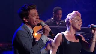 Pink Feat Nate Ruess   Just Give Me A Reason (2013 Live)