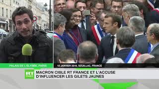 RT France une nouvelle fois pris pour cible par Emmanuel Macron