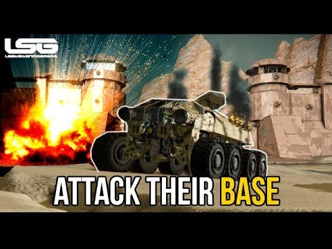 Space Engineers - They Stormed The Base