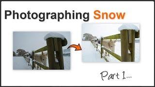 Snow photography Pt. 1