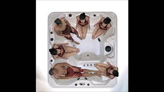 85 Jet Stereo LED Lit Hot Tub $6499