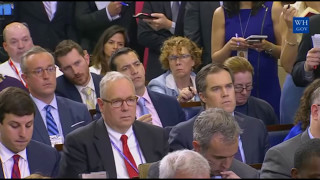 Sean Spicer CONFRONTED on Mike Flynn security clearance CNN, abc news 4/27/2017