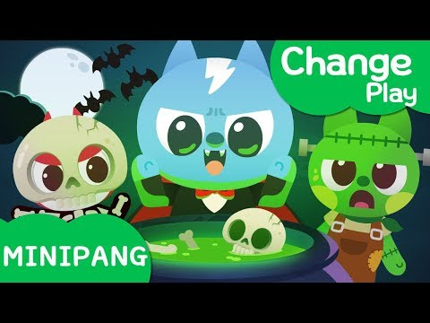 Costume play with Miniforce | Change | Happy Halloween with Miniforce | Mini-Pang TV Costume Play