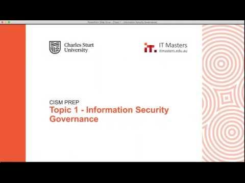 Free Short Course: CISM Prep - Module 1 - YouTube