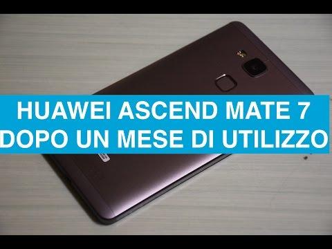 Considerazioni Huawei Ascend Mate 7 dopo un mese di utilizzo