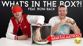 WHAT'S IN THE BOX CHALLENGE Feat. Roni Back