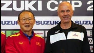 [LIVE] HLV Eriksson và Park hang-seo họp báo