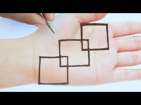 Beautiful Stylish Mehendi design for front hands - Full hand mehndi design - Latest mehndi design
