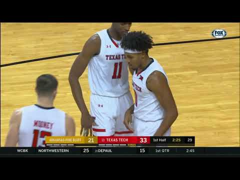 Texas Tech Men's Basketball vs. UAPB: Highlights | 2018