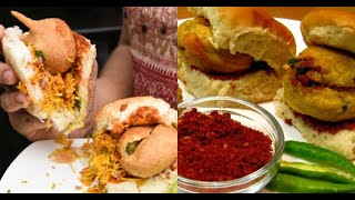 Mumbai's Best Vada Pav  #WithMe #StayHome | Indian Street Food
