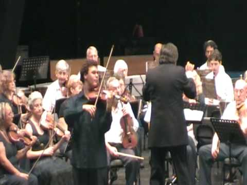 Tchaikovsky Violin concerto,  Movement II - Andante.