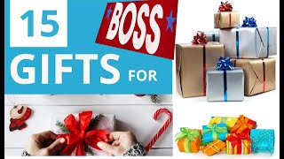 15 Awesome Gifts To Buy For Your Boss That Wont Break The Bank In 2019