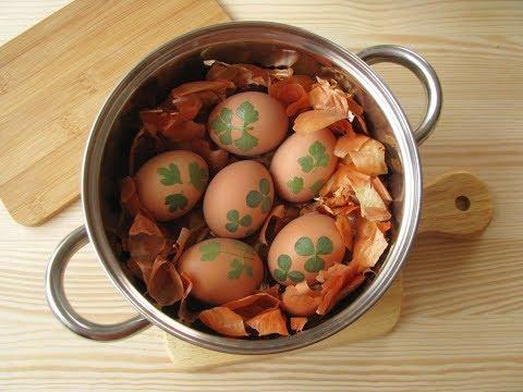 Cómo Tintar Los Huevos De Pascua Con Piel De Cebolla