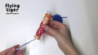 DIY Knitting Doll