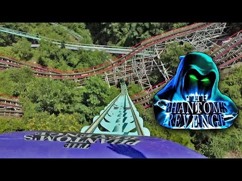 Phantom's Revenge HD Front Seat On Ride POV & Review. Awesome Morgan Hyper Coaster At Kennywood!