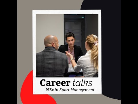 Career in Sports Management - Alumni Talk