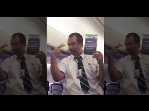 This Flight Attendant Will Have You Laughing in Fits
