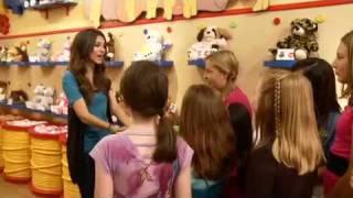 Виктория Джастис, Victoria Justice Surprises Fan At Build-A-Bear Birthday Party