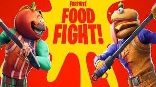 NEW FORTNITE UPDATE! NEW FOOD FIGHT LTM GAMEMODE IN FORTNITE! (FORTNITE BATTLE ROYALE)