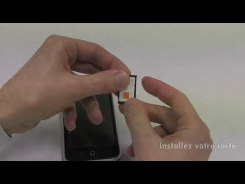 Installer une carte Sim dans un iPhone