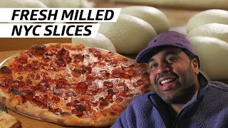 The Best Slice in NYC Comes From Scarr's Pizza's House-Milled Flour Operation — Handmade