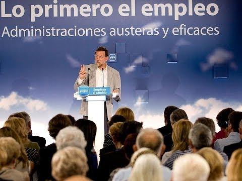 Propuestas de Mariano Rajoy en el Foro Popular Reforma del sector público
