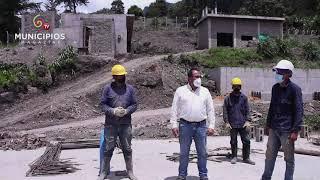 TV MUNICIPIOS – EN CÁQUEZA – CUNDINAMARCA VERIFICAN  LA CONSTRUCCIÓN DEL ACUEDUCTO