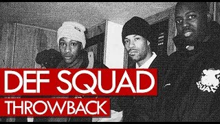 Redman, Erick Sermon, Keith Murray Def Squad freestyle Throwback 1998