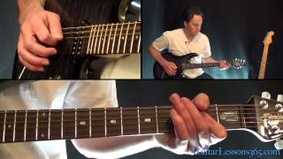 Photograph Guitar Lesson Pt.1 - Def Leppard - Chords/Riffs