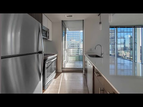 A sunny corner -10 2-bedroom at the Loop's luxurious MILA apartments