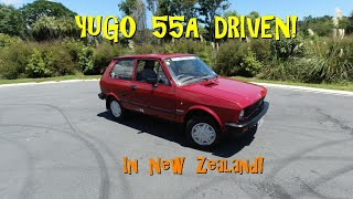 Real Road Test: Zastava Yugo 55A - one of 300 sold in NZ!